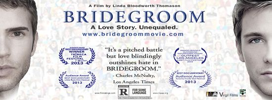 Bridegroom, a film by Linda Bloodworth Thomason, premieres on OWN, the Oprah Winfrey Network, tonight. Will you be watching the documentary about love, loss and marriage equality?