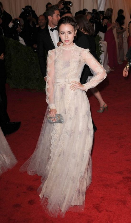 Celebrities in Valentino Gowns