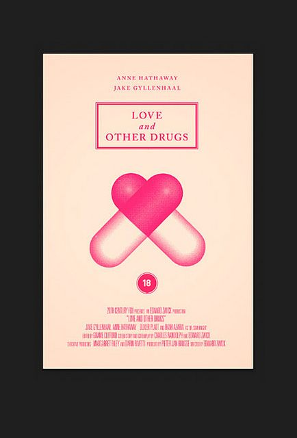 """""""Love and Other Drugs"""" by Olly Moss"""