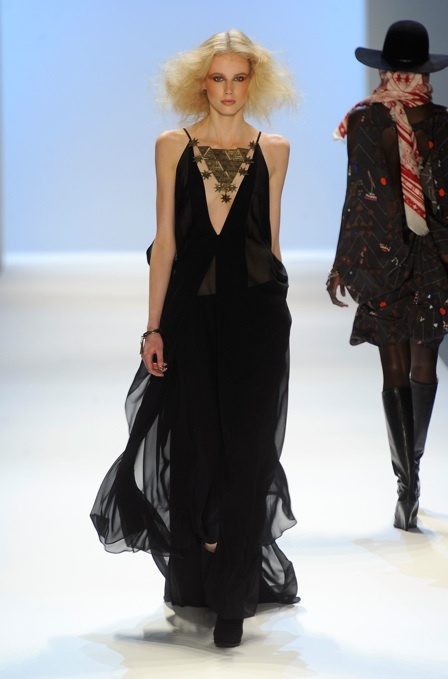 A stunning black dress from Mara Hoffman Fall 2012 Collection