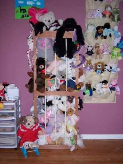 Stuffy storage!