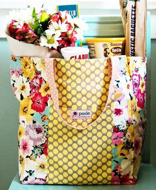 market bag sewing pattern