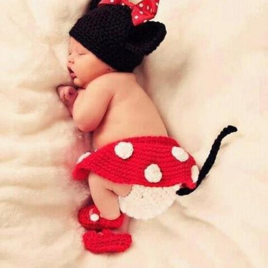 That's a Minnie sleep :)