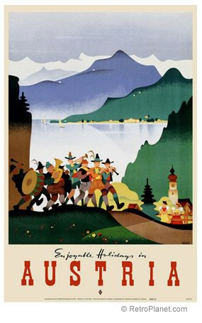 image of Austria Travel Poster