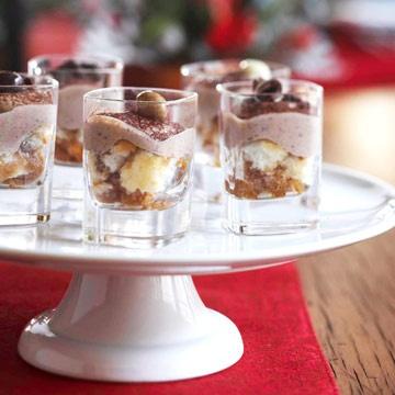 healthy chocolate recipes, Tiramisu shots