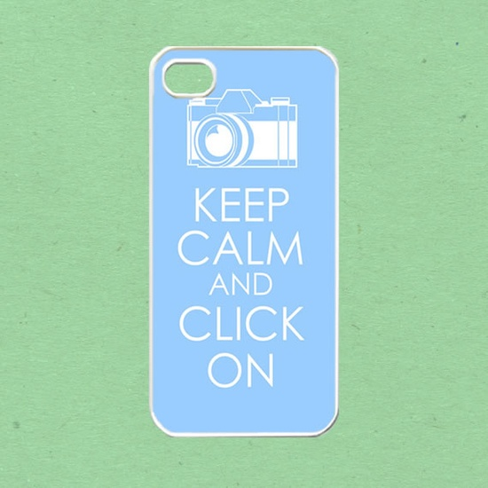 iPhone 5 case, iPhone Case - keep calm