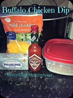 Recipe: Buffalo Chicken Dip