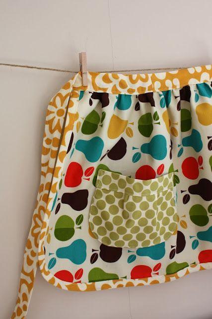 DIY TUTORIAL: Kids apron