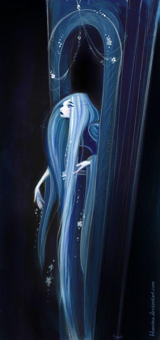 Rapunzel at Night by ~Blumina on deviantART