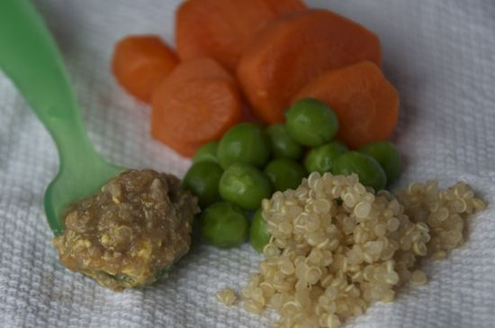 Baby Food: Quinoa Beef and Veggies - Protein