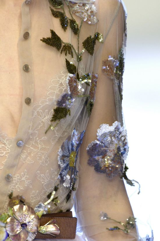 valentino detail. This is exquisite as ao choang