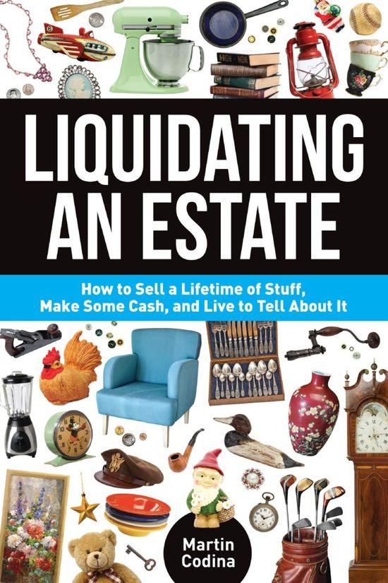 Liquidating an Estate Book Cover