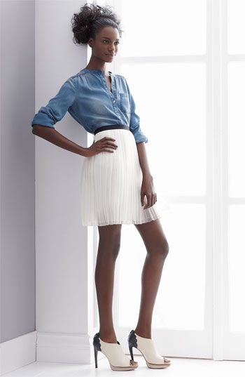 Trouvé Shirt & Miniskirt