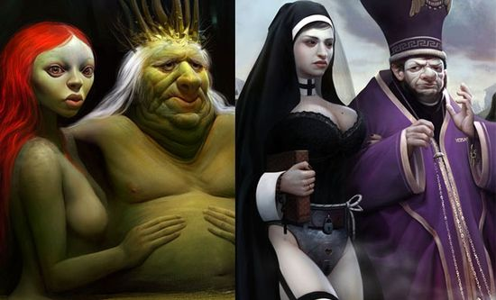 23 Beautiful 3D Character Designs and illustrations by Max Kostenko