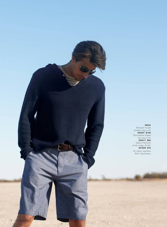 A great simple & stylish outfit that doesn't look like you're trying too hard.  Nordstrom Spring 2013 Men's Shop Catalog