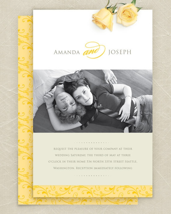 Wedding Invitation ideas.
