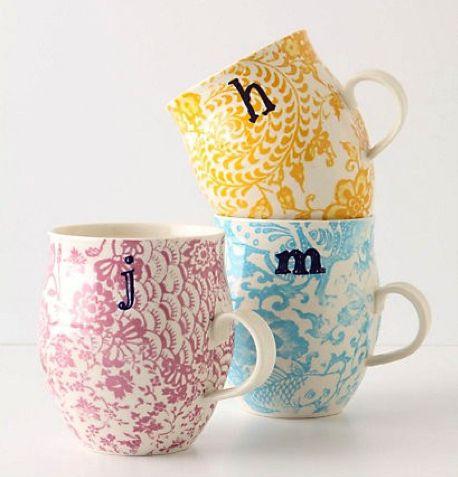 pretty mugs