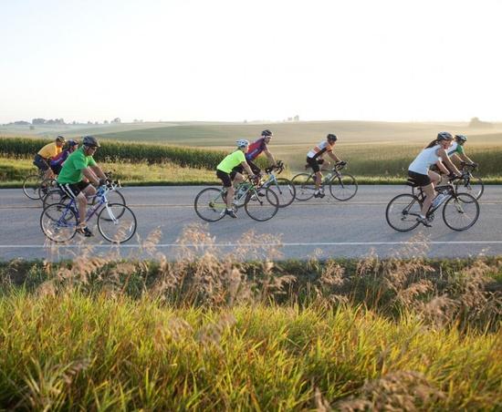 Eat, ride, repeat: RAGBRAI bike ride across IOWA!