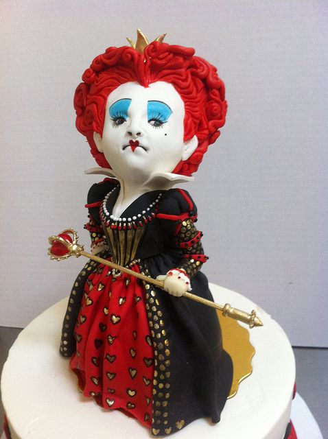 The Red Queen Cake by Karen Portaleo/ Highland Bakery, via Flickr