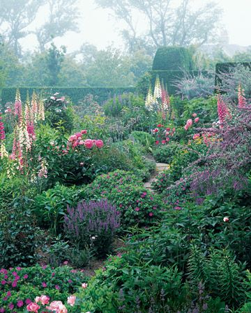 * to have a cottage garden.