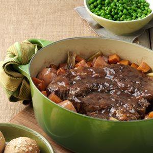 Balsamic Braised Pot Roast. [from taste of home]