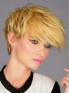 Summer Short Layered Hair Style