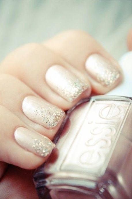#mani #nails #manicure #Essie #OPI #ChinaGlaze -short nails -real nails - nail polish - sexy nails - pretty nails - painted nails - nail ideas - mani pedi - French manicure - sparkle nails -diy nails