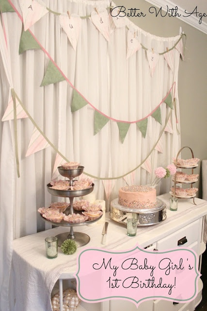 Adorable 1st Birthday Party from Better With Age
