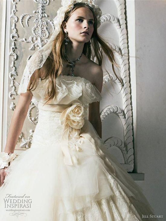 Jill Stuart Bridal 2011 Wedding Dress Collection