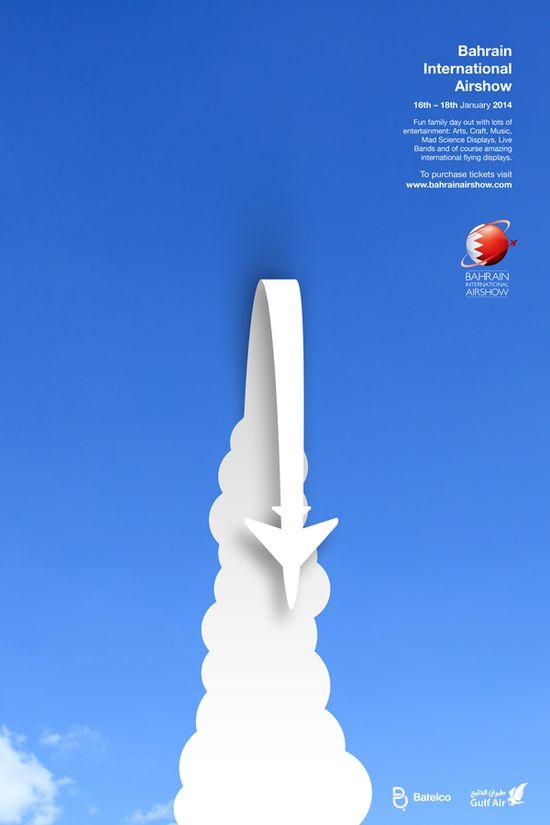Bahrain International Airshow by filip nemet, via Behance
