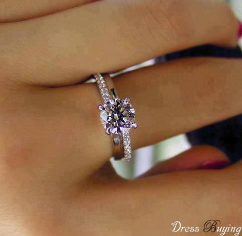 Simple and Elegant Engagement Ring. Let Jackson Diamond Jewelers in Enid, Oklahoma design the ring of YOUR dreams!