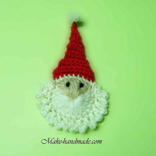 Easy Santa crochet tutorial