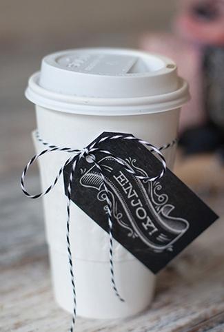 Printable chalkboard gift tags!
