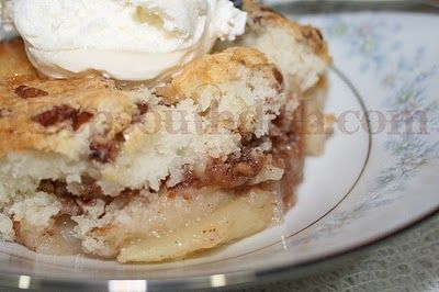 Deep South Dish: Fresh Fruit Cobbler - Apple