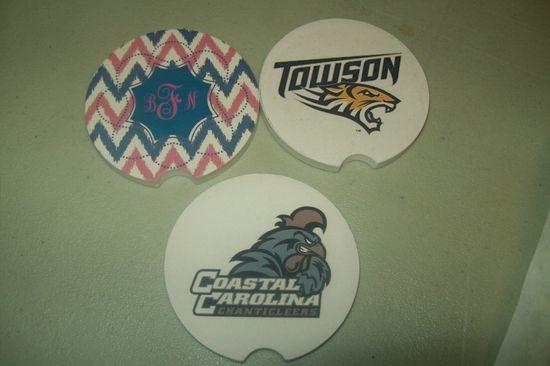 custom car coasters