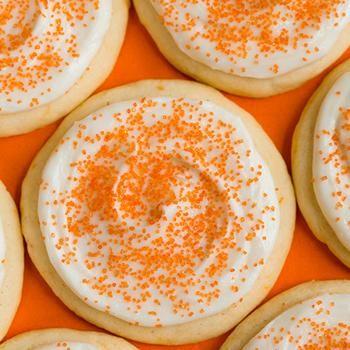 Orange Creamsicle Sugar Cookies