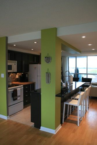 Contemporary Kitchen Small Kitchen Design