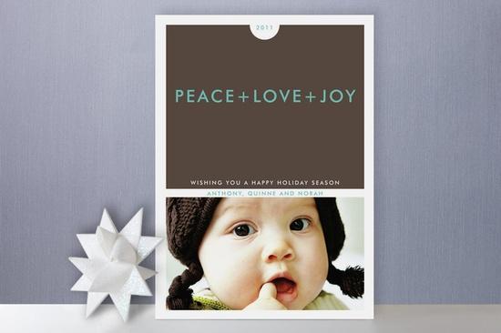 Christmas_ Card Idea.  Love the simple look.