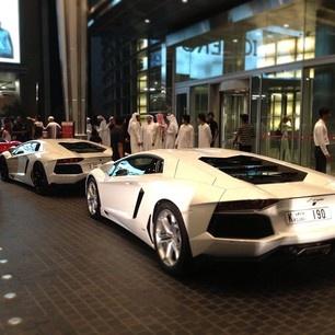 White angel- Lamborghini Murcielago!