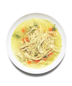 Chicken and Spaghetti Soup Recipe