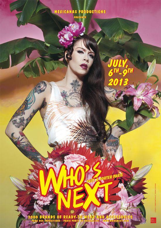 Première classe au Salon Who's next -Paris - 6-9 juill 2013