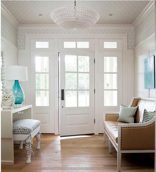 love the windows on these doors