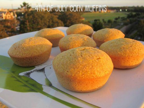 4th of July Corn Muffin Recipe