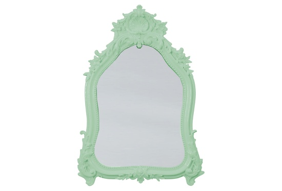 This cool mirror comes in 5 colors
