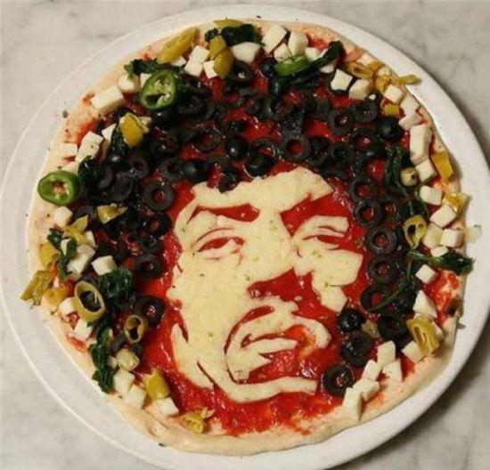 Jimi Hendrix Pizza