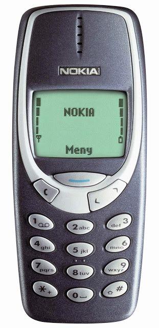 Nokia 3310 ! Best phone ever invented