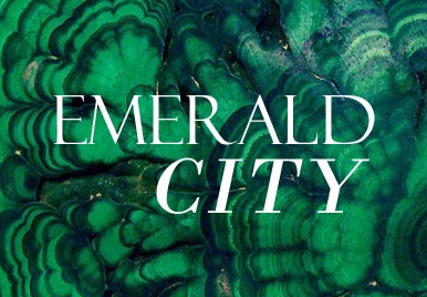 Just because this is where we live, and it's very pretty. Emerald city #coloroftheyear