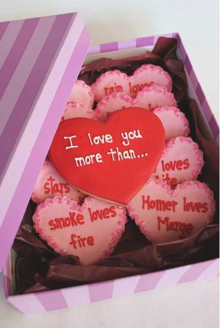 I love you more than... for Valentines
