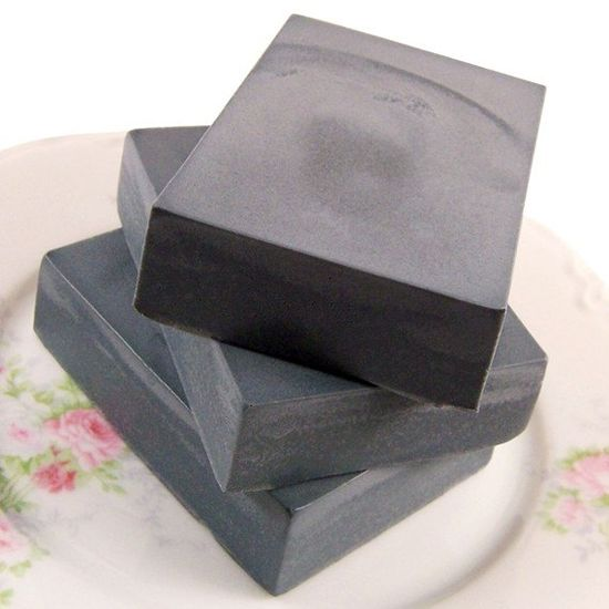 Activated Charcoal Facial Soap - Detoxifying - with Goats Milk, Bentonite Clay, and Tea Tree Oil