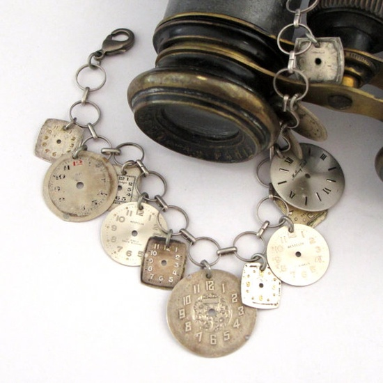 Vintage charm bracelet by Mystic Pieces